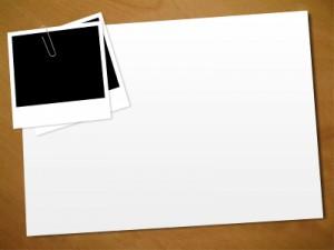 blank vision board